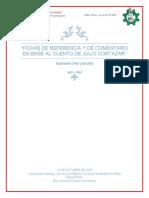 Fichas de referencia y de comentario en base al cuento de Julio Cortázar