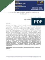 CONCEITO DE OBSTaCULO EPISTEMOLoGICO DE GASTON