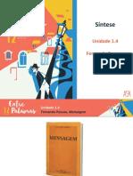 Síntese - Mensagem (Unidade 1.4).ppt