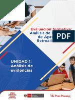 Analisis de Evidencias de Aprendizaje y Retroalimentacion Ccesa007