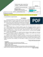 Guía 14_ Unidad 1 Leng. 6°_EVALUACIÓN