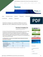 Criterio general del diseño de Mezclas por el Método del ACI ( American Concrete institute) _ CivilGeeks.com