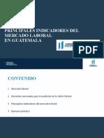 2. Principales indicadores del mercado laboral