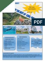 FLYERS DESIGN-CHOOSE CEBU, PHILIPPINES