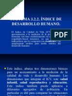 tema 3 ÍNDICE DE DESARROLLO HUMANO