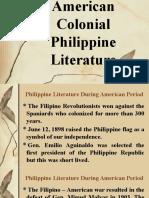 American Colonial Philippine Literature - Copy