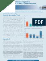 Fiche de synthèse pour les decideurs de l'etude economique Eau.pdf