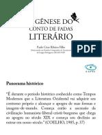 A gênese do conto de fadas literário_apresentação Paulo
