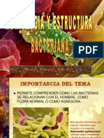 Estructura y morfología bacteriana - Q.C. Ricardo Ezequiel Keb Puc