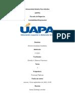TAREA 1 FINANZAS PUBLICAS.