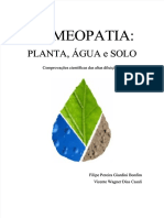 Homeopatia. Planta, Água, Solo - Bonfim & Casali