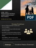 Agen Sosialisasi - Keluarga