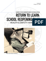 2020-07 Health and Safety Handbook (SY 2020-21) Version 1