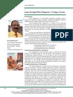Selection of Panchakarma through Pulse Diagnosis A Unique System