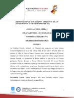 IDENTIFICACION TERRENOS GEOLOGICOS  DE CALDAS Y CUNDINAMARCA 2.0.docx