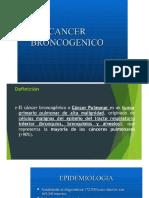 20. CANCER BRONCOGENICO