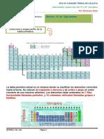 Clase 3. Estructura y Organización de la Tabla Periódica