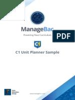 C1 Unit Planner