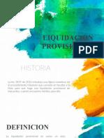 EXPO - LIQUIDACION PROVISIONAL
