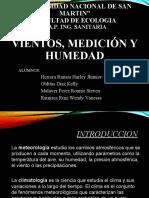 VIENTOS MEDICION Y HUMEDAD