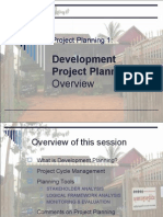 3 Development Project Cycle Planning