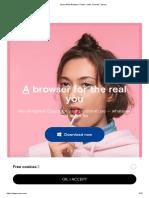 Opera Web Browser _ Faster, Safer, Smarter _ Opera