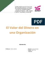 finanzas 1 informe escrito vanesa