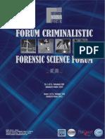 Gunshot Residues Element of Perpetrator Identification by Coroiu Viorel