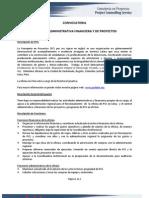 Asistente Administrativo Financiero