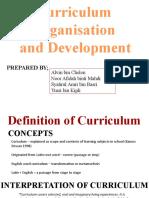 11. Curriculum Organization and Development