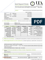 Report of Hazardous Incidents (eForm) Revised (2019)