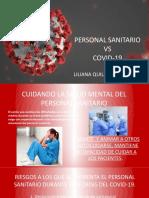 CUIDADOS LA SALUD MENTAL DEL PERSONAL DE SALUD FRENTE AL COVID19