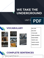 UNIT 3 - WE TAKE THE UNDERGROUND.pdf