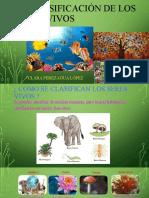 La clasificación de los seres vivos.pptx