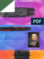 fermat little theorem