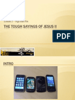 The Tough Sayings of Jesus II - Figs and Fits