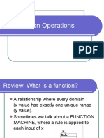 Operation of Functions