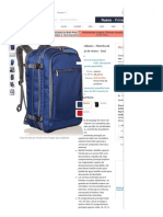 22AmazonBasics - Mochila de equipaje de mano - Azul marino_ Amazon.es_ Equipaje