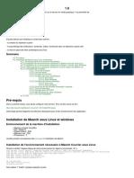 1.6. Pré-requis. Installation de Maarch sous Linux et windows. Sommaire. Environnement de la machine d'installation