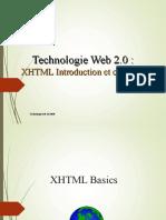 Chapitre1 Xhtml Introduction Et Concepts