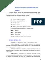 ESPECIFICAÇÕES PROJETO HIDROSSANITÁRIO