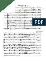 ESEMPIO Analisi Mozart. Sinf.5 partitura