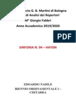 RELAZIONE 1° MOVIMENTO SINFONIA 94 Hydn.docx