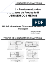 Aula_2-Grandezas Físicas no Processo de Usinagem