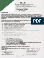 Enmienda Convocatoria 2010-2011