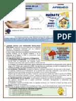 tema 5 FUENTES DE LA REVELACION  1º GLORIOSO SAN CARLOS 2020