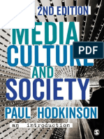 Media, Culture and Society An Introduction Second 2nd Edition