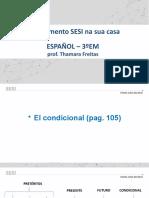 Conjugación de verbos en condicional (regulares e irregulares)