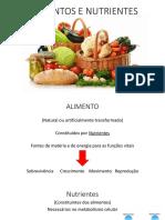 Alimentos, distúrbios e alimentação saudável_9º ano