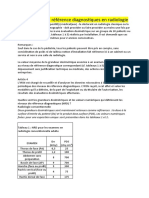 Les niveaux de référence diagnostiques en radiologie